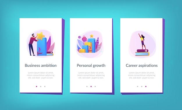 Sulla strada per il modello di interfaccia dell'app di successo