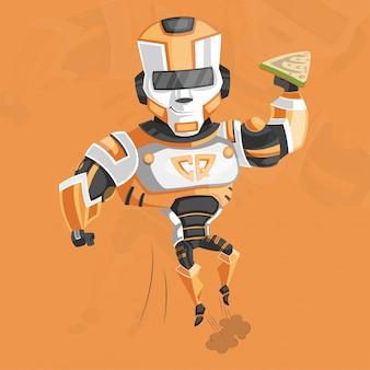 Supereroe del cyborg