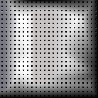 Superficie della struttura in metallo cromato