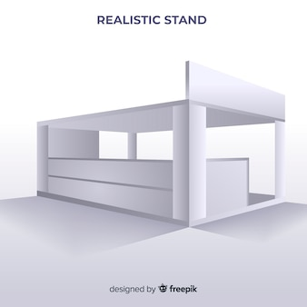 Supporto moderno con design realistico