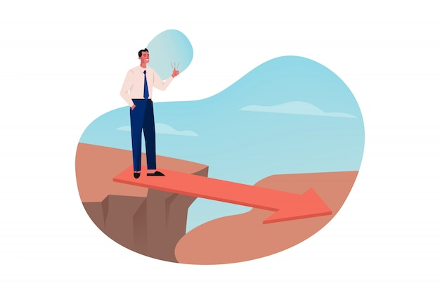Supporto, problema, strategia anti crisi, come concetto di business