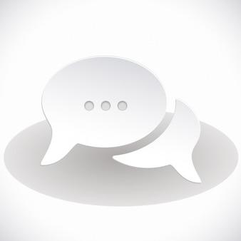 Supporto speech bubbles