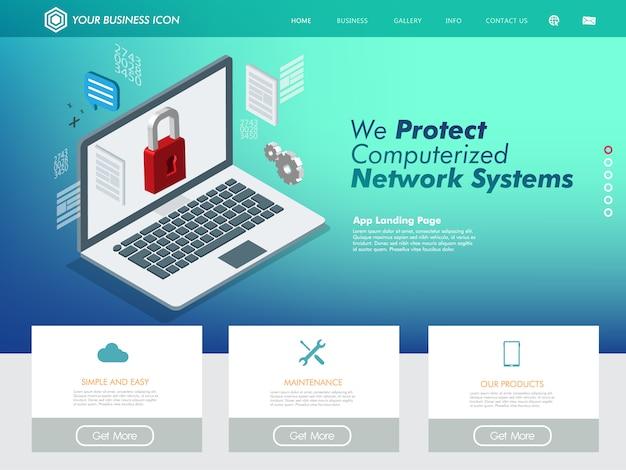Supporto tecnologico per il sito web di rete internet