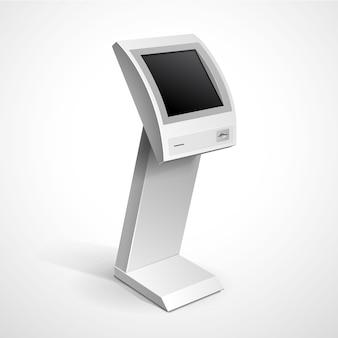 Supporto terminale monitor di visualizzazione informazioni