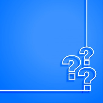 Supporto web blu e design del modello di pagina della guida