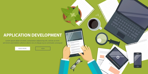 Sviluppo di applicazioni, concetto di working desk