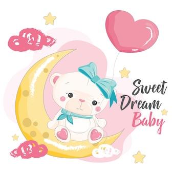 Sweet dream baby bear