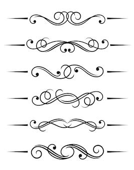 Swirl elementi