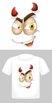 T-shirt con grafica frontale