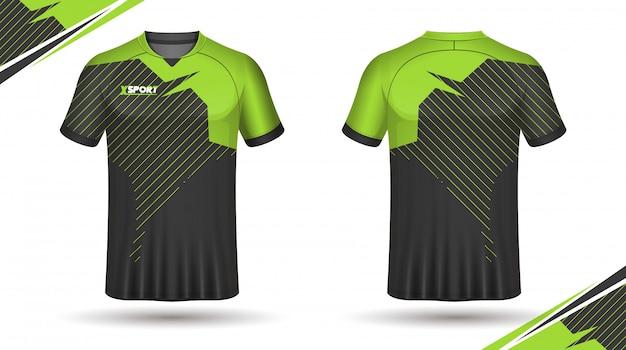 T-shirt da calcio modello sport design