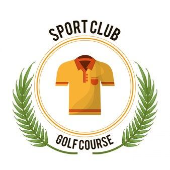 T-shirt da golf club sport