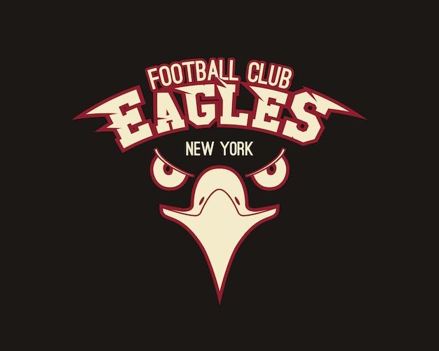 T-shirt grafica sportiva eagle