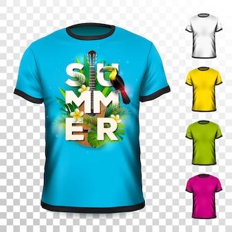 T-shirt per le vacanze estive