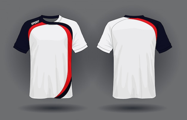 T-shirt sportiva in jersey di calcio