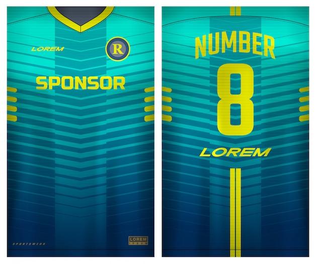 T-shirt sportiva per calcio