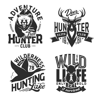 T-shirt sportive da caccia