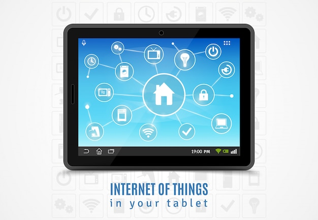 Tablet internet of things