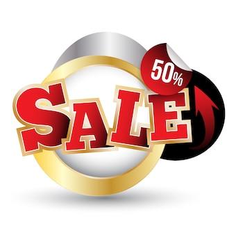 Tag di vendita. banner di vendita shopping. può essere utilizzato per la promozione.