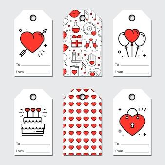 Tag regalo di san valentino