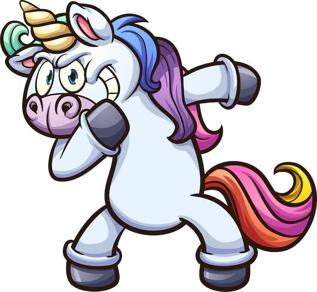 Tamponando unicorno
