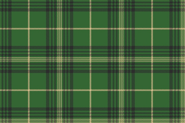 Tartan scozzese check verde senza cuciture