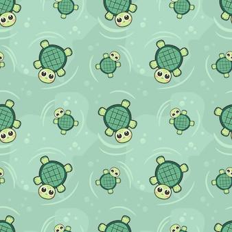 Tartaruga senza cuciture