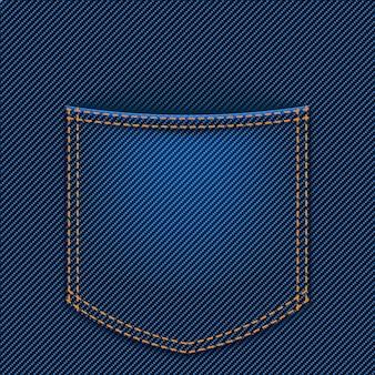 Tasca posteriore per jeans