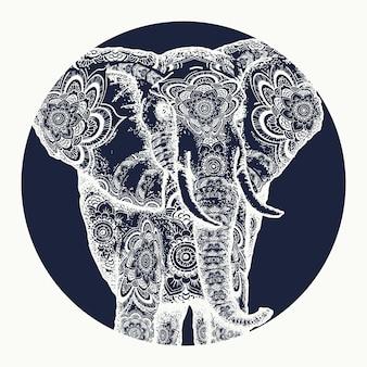 Tatuaggio di elefante
