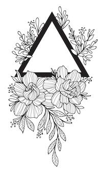 Tatuaggio floreale