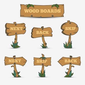 Tavole di legno