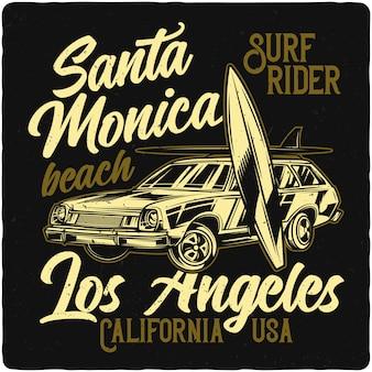 Tavole per auto e surf