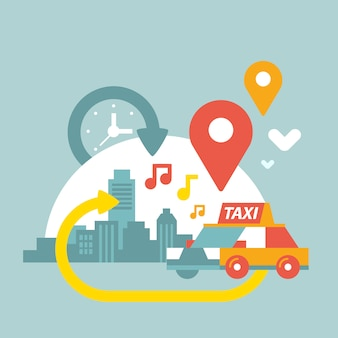 Taxi e città