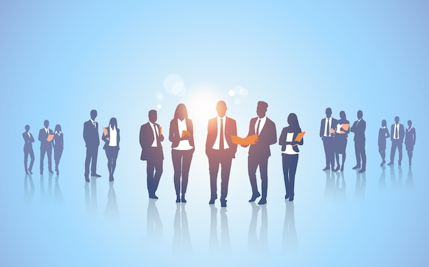Team di persone d'affari