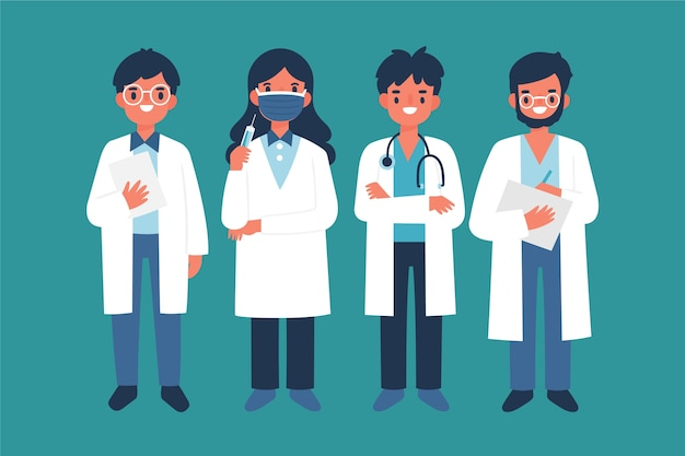 Team di professionisti della salute