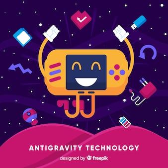 Tecnologia antigravitazionale con elementi