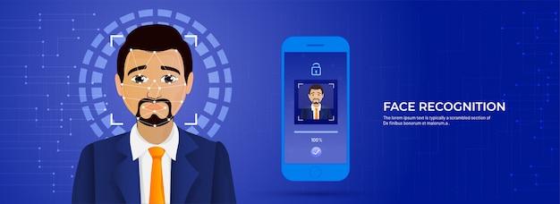 Tecnologia biometrica futuristica