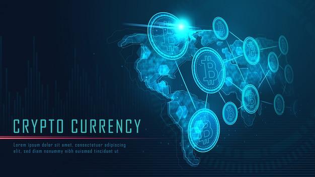 Tecnologia blockchain con connessione globale