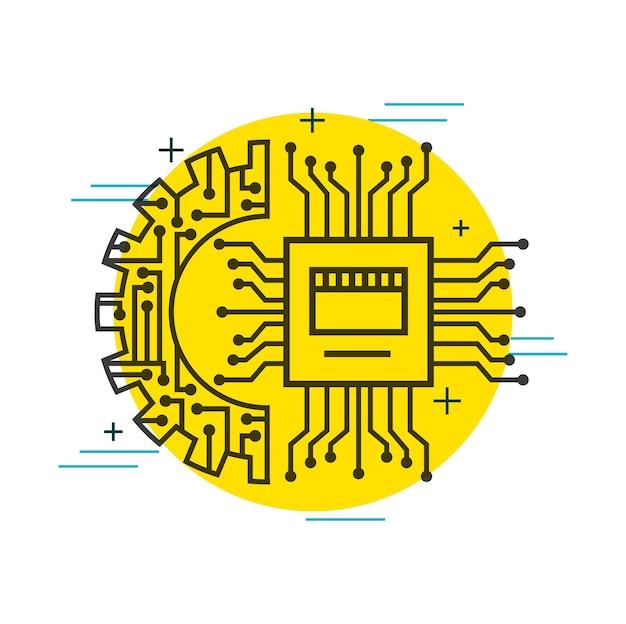 Tecnologia di collegamento per l'impostazione della marcia del circuito stampato
