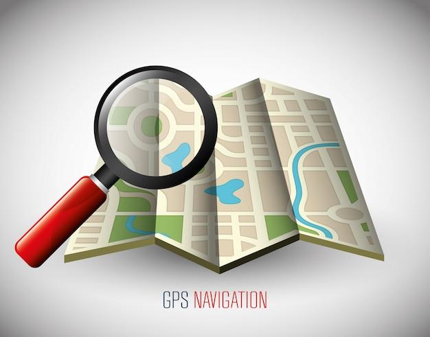 Tecnologia di navigazione gps