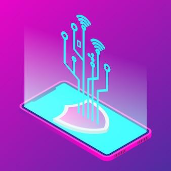 Tecnologia di sicurezza per smartphone