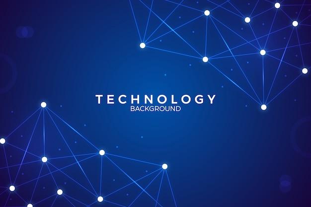 Tecnologia digitale astratto sfondo vettoriale