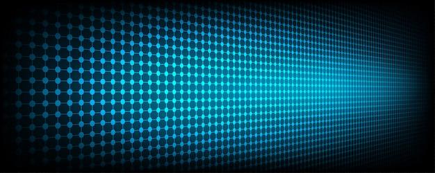 Tecnologia futuristica di rete digitale blu abstract utilizzando come sfondo e carta da parati