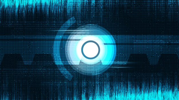 Tecnologia occhi per fotocamera digitale