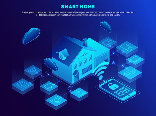 Tecnologia smart home.