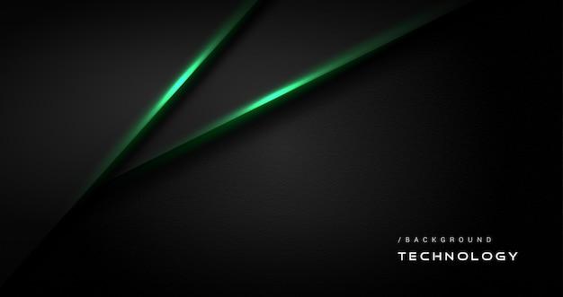 Tecnologia verde scuro alla moda