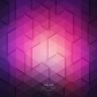 Tecnologia vettoriale astratto geometrico. vector viola violetto sfondo.