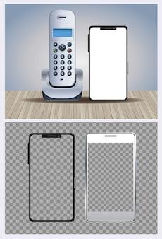 Telefoni senza fili e dispositivi smartphone