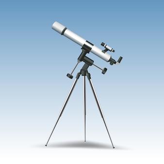 Telescopio realistico
