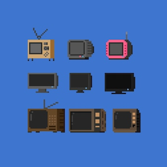 Televisore pixel.