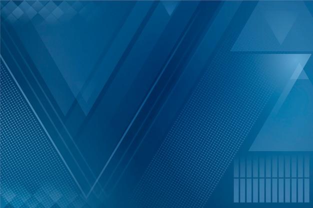 Tema blu classico astratto per il concetto di carta da parati